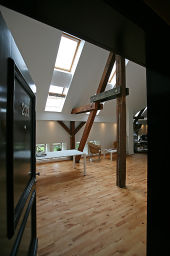 Dachgeschoss-Loft-Wohnung mit Galerie