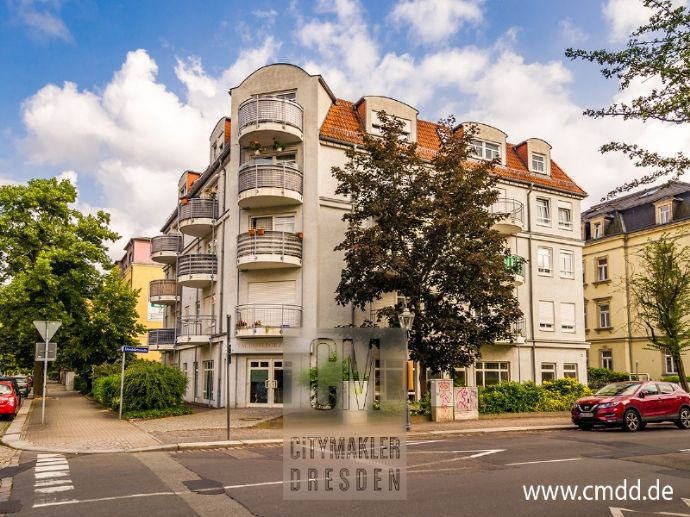 Einsteigerinvestment in Striesen! Mit Aufzug, Balkon und Stellplatz! www.cmdd.de