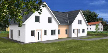 Doppelhaushälfte in Burg