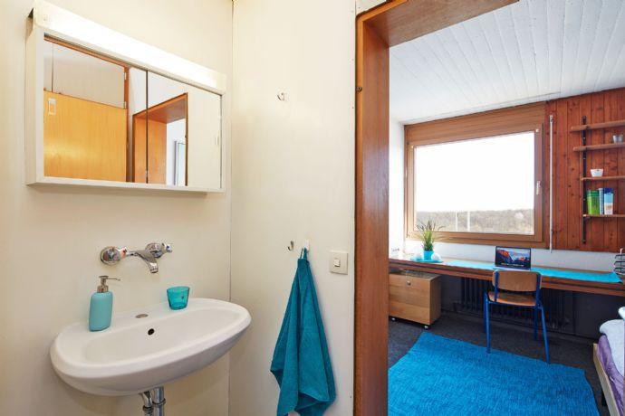 249 € all in - only 20 minutes from Stuttgart: Furnished room (Type I) at student residence Eduard-Spranger-Str.