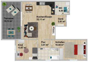 Etagenwohnung in Burglengenfeld  - Armensee