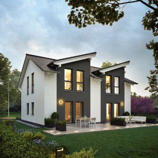 bauplatz mit traumhaftem ausblick kfw 55 haus incl. Black Bedroom Furniture Sets. Home Design Ideas