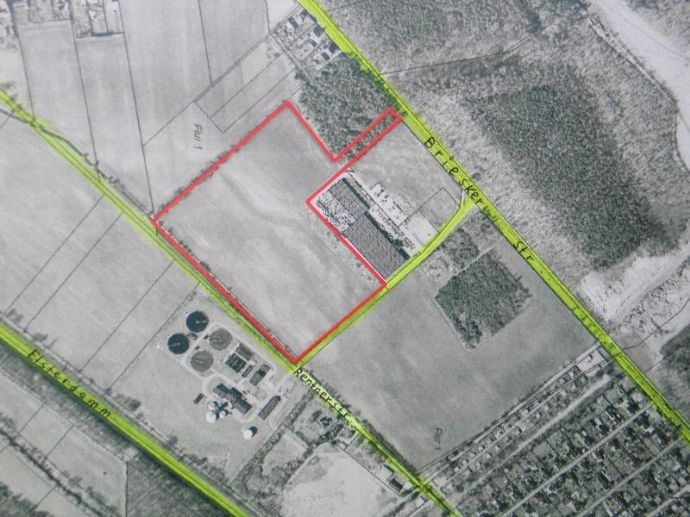 Gewerbegrundstück(teilbar) an Umgehungsstr. B 169 in Senftenberg (Brandenburg)