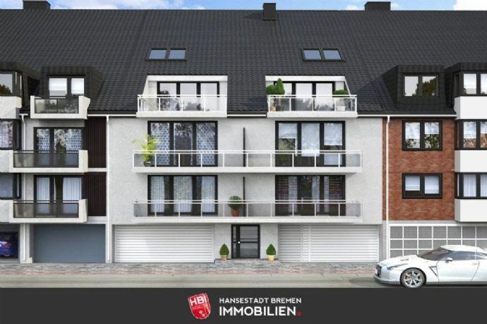 Woltmershausen / Exklusive Dachgeschosswohnung mit Balkon