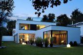 Neubauplanung eines Architektenhauses im Bauhausstil mit Dachterrasse