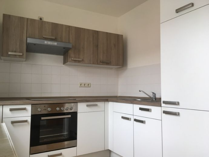 1-Raum-Wohnung mit Balkon und Einbauküche