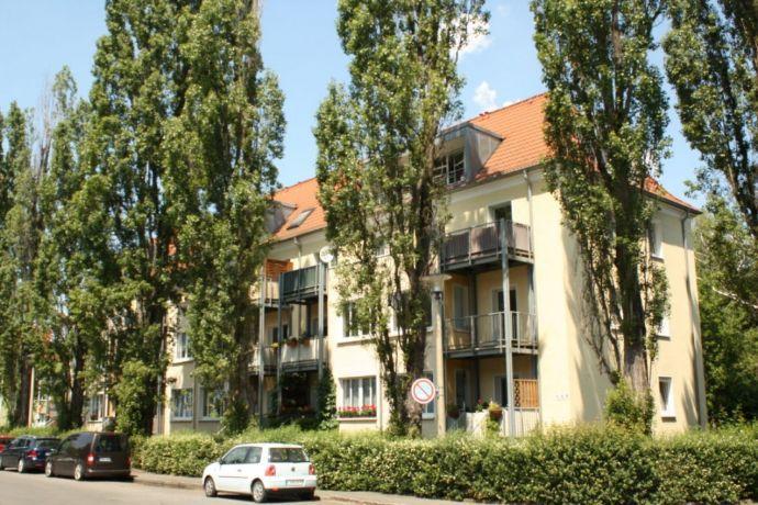 Ruhig und dennoch Zentral gelegen- Bad mit Wanne und Fenster, zwei Balkone, grünes Grundstück