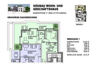 Penthouse in Hatten  - Sandkrug I