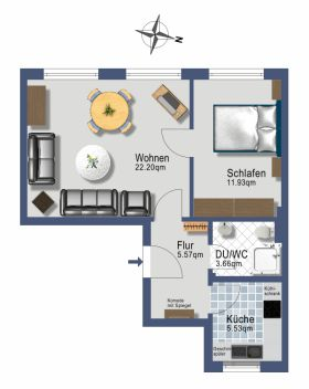 Apartment in Hamburg  - Hohenfelde