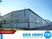 Kalthalle / Lagerhalle im Gewerbegebiet von Radeberg bei Dresden