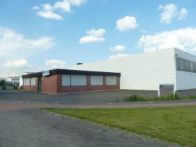 Industriehalle in Rheine  - Baarentelgen