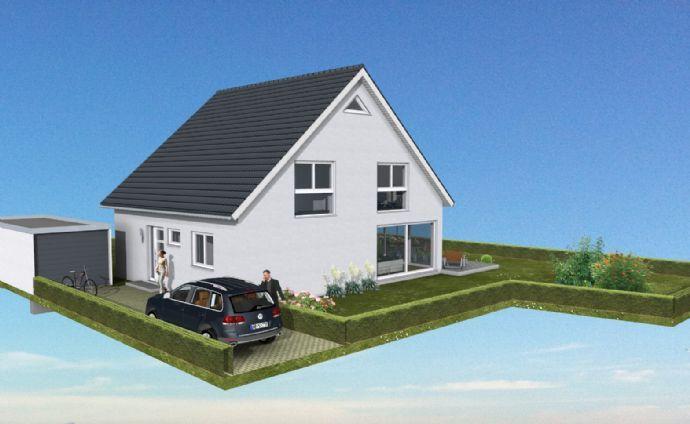 **NEUBAU einer modernen Doppelhaushälfte zum Weiterausbau ***