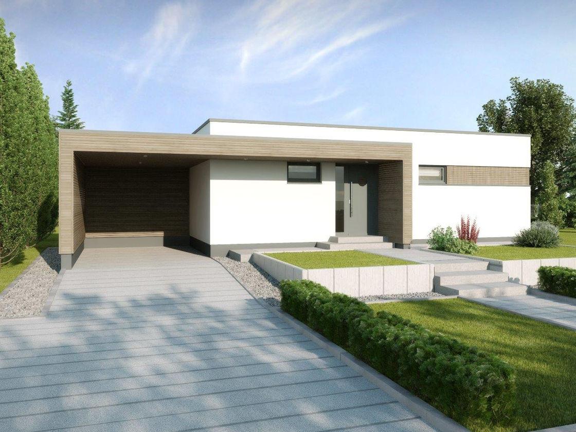 Verzauberkunst Haus Mit Flachdach Ideen Von