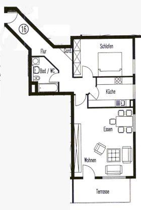 Erdgeschosswohnung in Niefern-Öschelbronn  - Öschelbronn