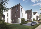 Neubau von 4 Architekten-Doppelhäusern in sehr schöner Lage von HH-Tonndorf