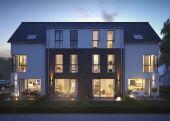 Neubau von 4 Architekten-Stadthäusern in sehr schöner Lage von HH-Tonndorf