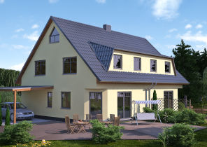 Doppelhaushälfte in Rostock  - Gartenstadt/Stadtweide