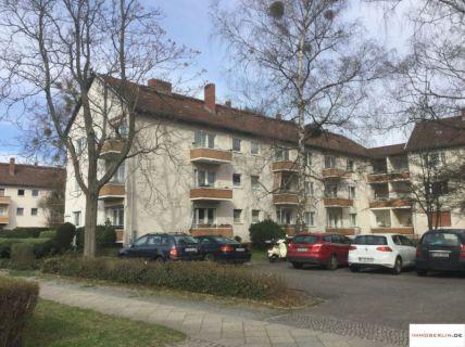 IMMOBERLIN: Vermietete Wohnung mit Südbalkon in Parknähe