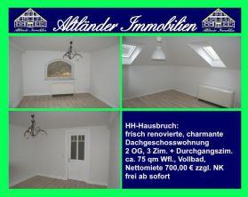 Dachgeschosswohnung in Hamburg  - Hausbruch
