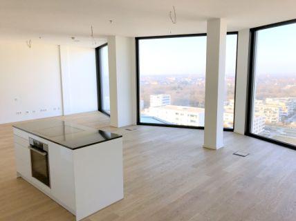 14.Stock - Neubau-Penthouse mit offener Küche im stylischen Friends-Tower