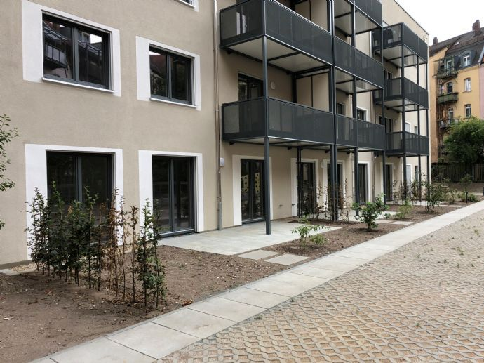 Attraktive 4-Zimmer-Wohnung mit Garten im Nibelungenviertel - Neubau!