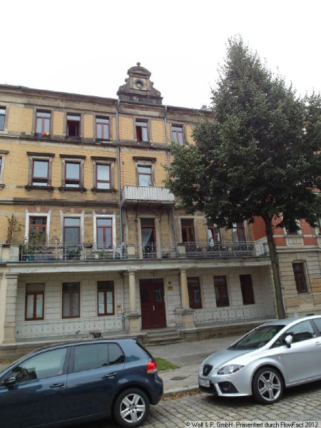 kleine 3-Raum-Wohnung - OHNE Balkon, Duschbad und Laminat