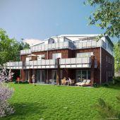 Neubau in Schnelsen: 2-Zimmer Terrassen Wohnung