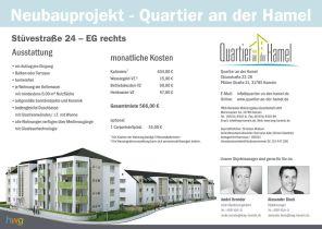 Erdgeschosswohnung in Hameln  - Südstadt
