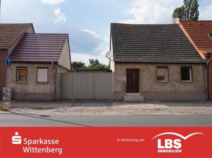 kleines unsaniertes Einfamilienhaus zu verkaufen
