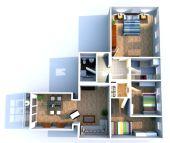 hochwertig sanierte 4-Raum-Wohnung mit Balkon