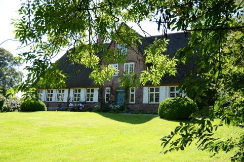 Traumhaftes Reetdachanwesen in Nordfriesland