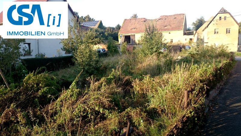 Helles Gartengrundstück in Südwestlage in Ebersbach, OT Naunhof