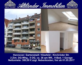 Dachgeschosswohnung in Hannover  - Kleefeld