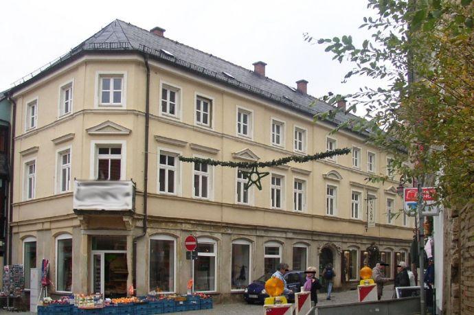 Bad Schandau, Nähe Markt: Laminat + Dusche