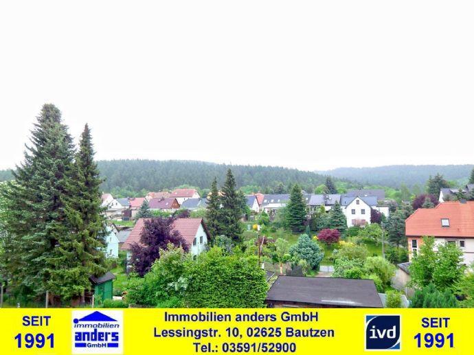 Erstbezug nach Modernisierung - 2-Raum ETW mit Garage und Wiesengrundstück - ca. 10 km südlich von Bautzen