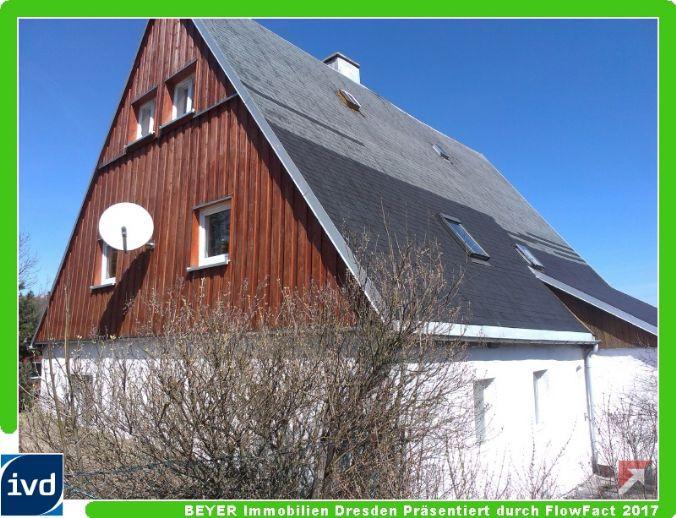 Idyllisch gelegenes Haus zum Ausbauen auf sehr viel Grundstück am Rand von Altenberg/OT Georgenfeld