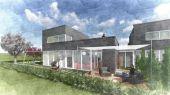 Neubau Wohnhaus mit großer Dachterrasse