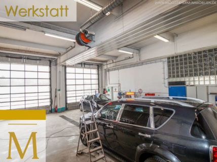 Werkstatt & Büro in zentraler, verkehrsgünstiger Lage