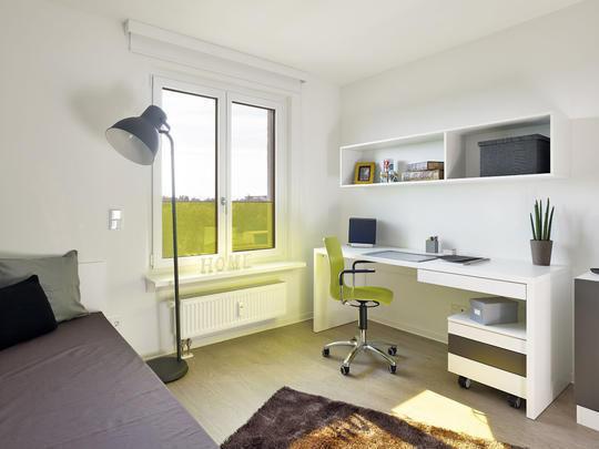 Modern möblierte Studentenapartments mit ca. 21 m² - mit direkter U-/S-Bahnanbindung