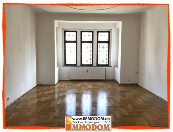 +++ Hochwertige 5-Zi. Wohnung mit BALKON in sehr beliebter Lage der Zwickauer Nordvorstadt +++
