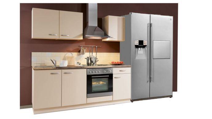 Einbauküche Mit Side By Side Kühlschrank : Vorweihnachtliches top angebot einbauküche und side by side