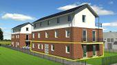 4-Zimmer-Neubau-Erdgeschosswohnung in Wedel, KFW 55