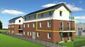 3-Zimmer-Neubau-Maisonettewohnung in Wedel! KFW 55