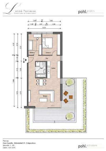 1./1,  3 Zimmer - modernes Wohnerlebnis mit eigenem Garten