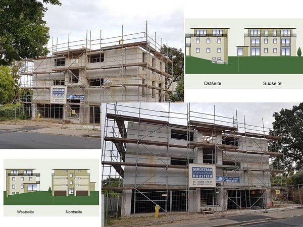 Neubau MFH mit 6 WE und Stellplätzen schlüsselfertig ggf. auch als Rohbauhaus