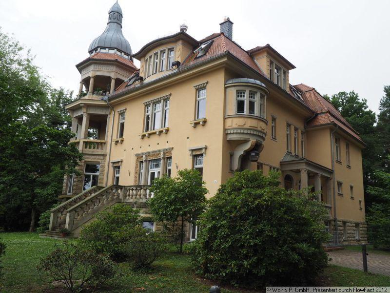 DD-Blasewitz; tolle 3-Zimemr-Maisonette-Wohnung mit Parkett; Kamin und Terrasse