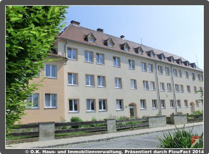 Idyllisch gelegene 3-Raum-Wohnung im Grünen