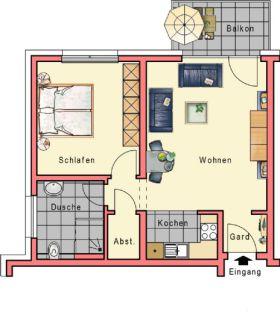 Erdgeschosswohnung in Baunatal  - Altenbauna