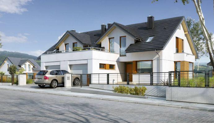 Schöne Doppelhaushälfte in Höhenlage von Radebeul Wahnsdorf mit traumhaft großem Grundstück