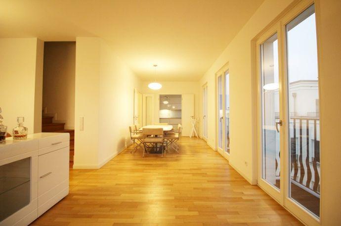 """""""Heinrich-Heine-Gärten"""": Repräsentative Penthouse-Neubau-Wohnung"""